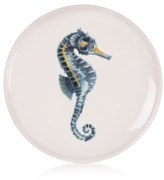 Fitz & Floyd Cape Coral Collection Seahorse Accent Plate