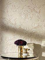 Versace Creamy Barocco Wallpaper