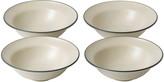 Royal Doulton Gordon Ramsay Union Street Bowls - Set of 4 - Cream