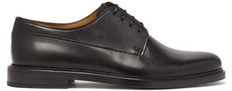 A.P.C. Samuel Leather Derby Shoes - Mens - Black