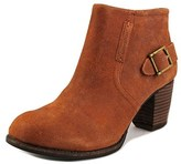 Caterpillar Annette Round Toe Leather Ankle Boot.