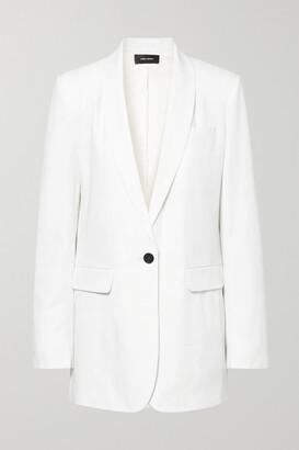 Isabel Marant Pratelia Wool Blazer - White