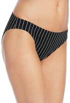 Vince Camuto Pinstripe Classic Bikini Bottom