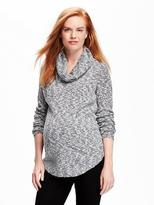 Old Navy Maternity Marled Cowl-Neck Sweater
