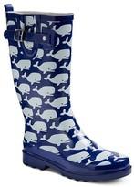 Western Chief Women's Whale Print Rain Boots