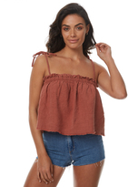 Rusty Heartbreaker Cami Red