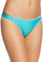 Splendid Whipstitch Side Tab Bikini Bottom