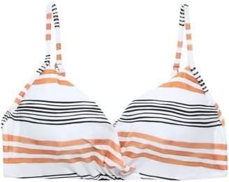 Vix Paula Hermanny Striped Mid-rise Bikini Briefs