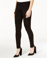 Celebrity Pink Juniors' Moto Ponte Pants