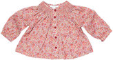 Marie Chantal Baby GirlSmock Liberty Print Baby Top