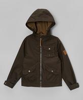 Hawke & Co Olive Microfiber Jacket - Toddler & Boys