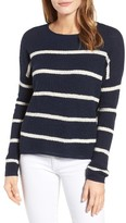Velvet by Graham & Spencer Women's Stripe Cashmere Sweater