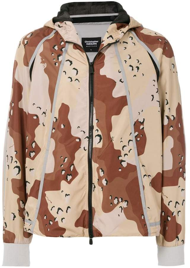 Christopher Raeburn choc chip print jacket