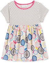 First Impressions Dots & Flowers Tunic, Baby Girls (0-24 months), Only at Macy's