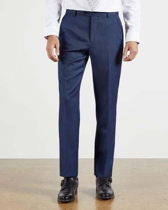 Ted Baker Wool Birdseye Suit Trousers