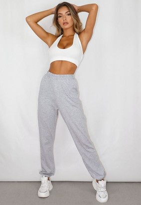 Missguided Grey Lounge Joggers
