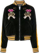 As65 velvet embroidered jacket