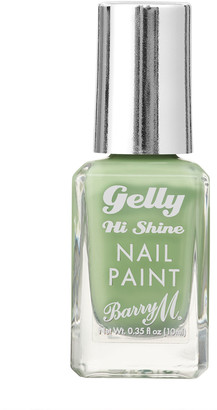 Barry M Gelly Hi Shine Nail Paint 10Ml Pistachio