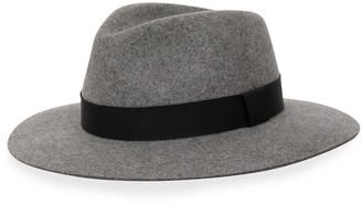 Rag & Bone Lenny Wool Fedora Hat