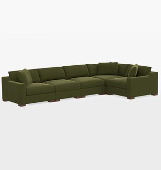 Rejuvenation Sublimity Luxe 5-Piece Sectional Sofa