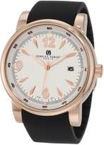 Rosegold Charles Hubert Charles-Hubert, Paris Men's 3881-RG Premium Collection Rose-Gold Stainless Steel Watch