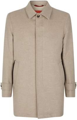 Isaia Wool-Cashmere Coat