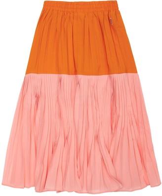 Molo Color Block Midi Skirt