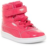Puma Sky II Patent High Top Sneaker (Baby & Toddler)