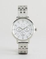 Armani Exchange Payton Silver Watch