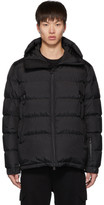 Moncler Black Down Isorno Puffer Jacket