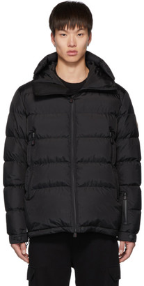 MONCLER GRENOBLE Black Down Isorno Puffer Jacket
