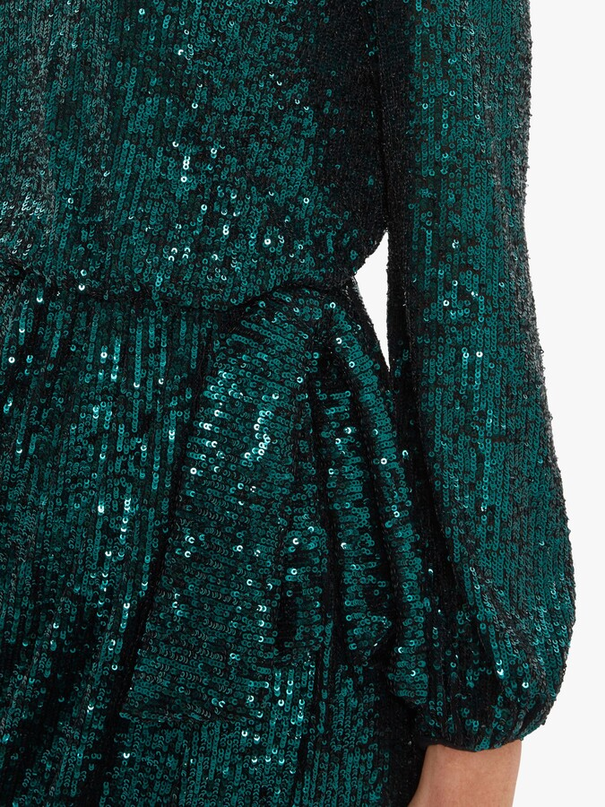 Thumbnail for your product : Gina Bacconi Pieta Sequin Dress