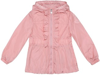 Moncler Enfant Cinabre hooded jacket