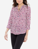 The Limited Printed Logan Blouse