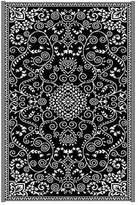 Murano Black Outdoor Rug