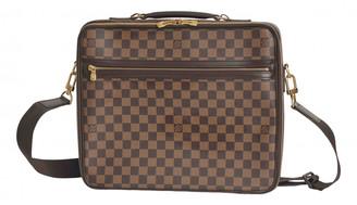 Louis Vuitton Brown Cloth Bags