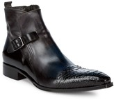 Jo Ghost Buckle Leather Ankle Boots