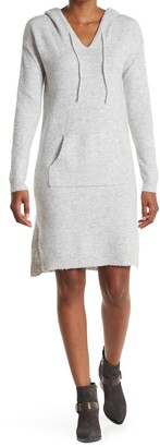 Stitchdrop Joey Hi-Low Midi Hoodie Sweater Dress