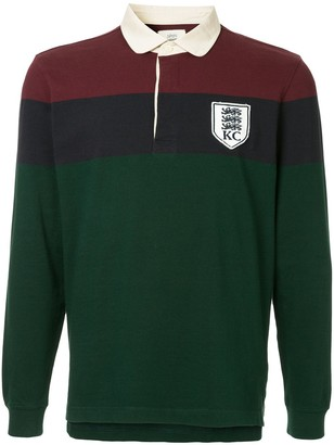 Kent & Curwen long-sleeved polo shirt