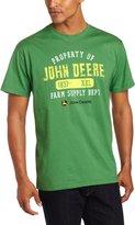 John Deere Men's Property Off Logo Core Short Sleeve Tee