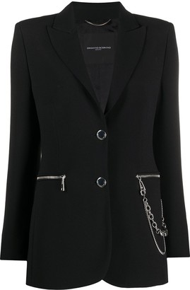 Ermanno Scervino Chain Linked Blazer