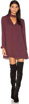 Krisa Cutout Turtleneck Mini Dress