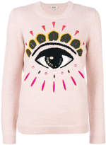 Kenzo eye embroidered sweater