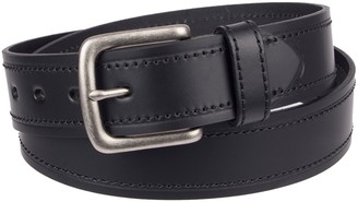 Dickies Men's Stitched Leather Belt