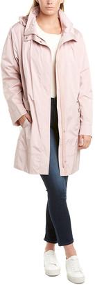 Cole Haan Plus Woven Rain Jacket