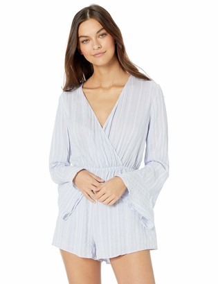 The Fifth Label Women's Coast Long Sleeve Striped Romper Playsuit