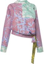Jonathan Saunders Printed Silk Helen Top