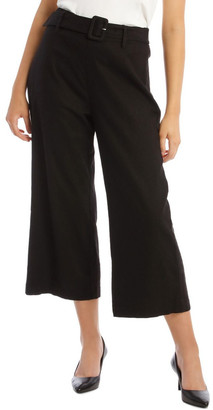 Tokito Belted Linen Culotte