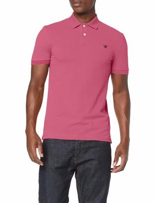 Hackett London Men's Slim FIT Logo Polo Shirt