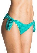 Roxy Women's Festival Fun Knotted 70's Bikini Bottom